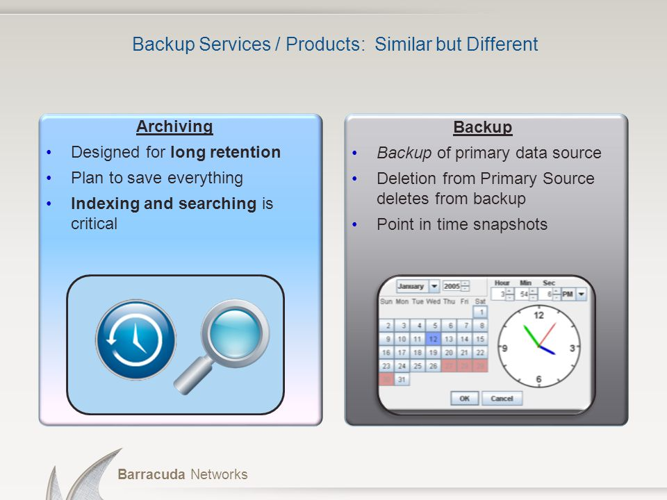 Barracuda Message Archiver An Introduction: Barracuda Message Archiver