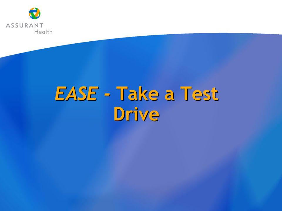 EASE - Take a Test Drive