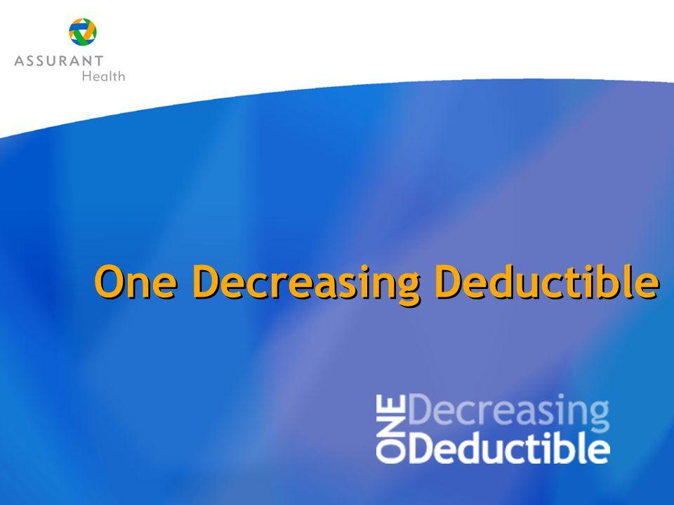 One Decreasing Deductible