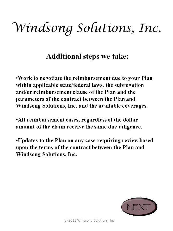 Windsong Solutions, Inc.