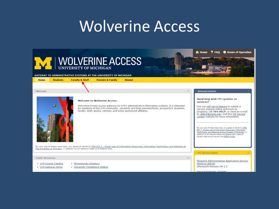 Wolverine Access