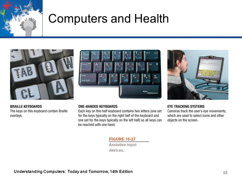 Computers and Health Understanding Computers: Today and Tomorrow, 14th Edition 55