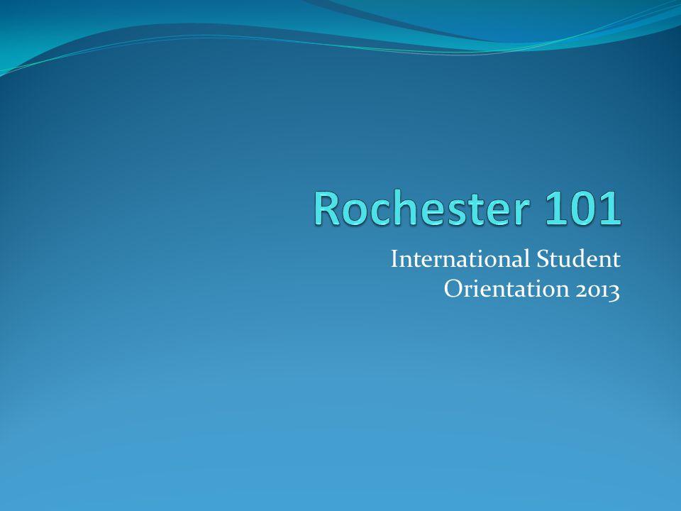 International Student Orientation 2013