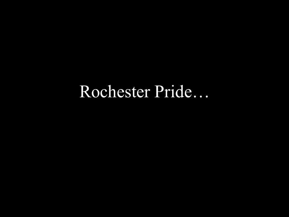 Rochester Pride…