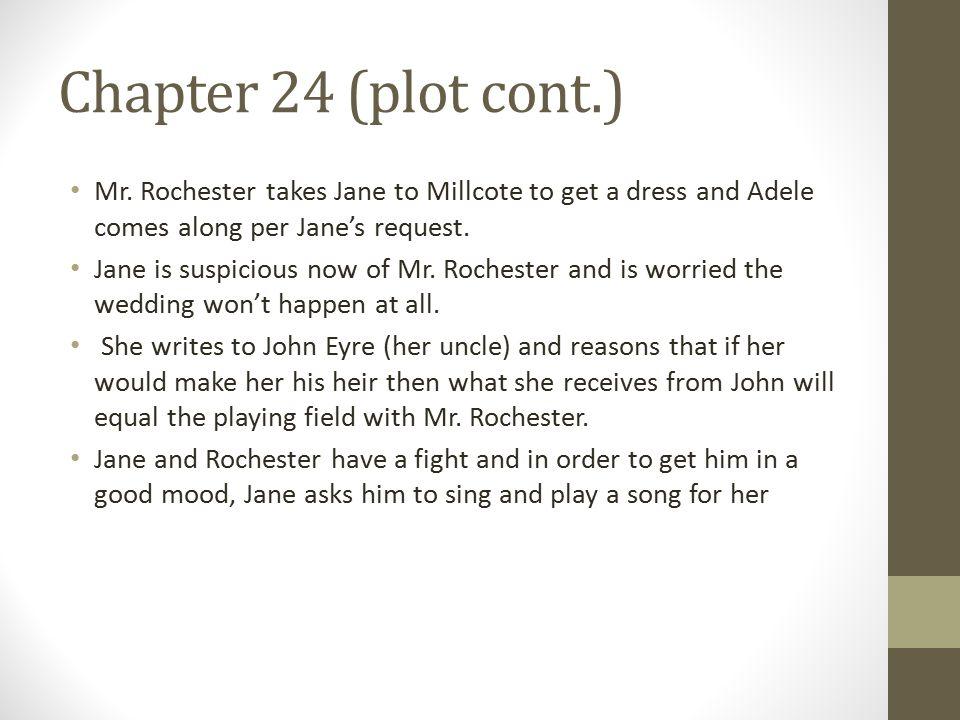 Chapter 24 (plot cont.) Mr.