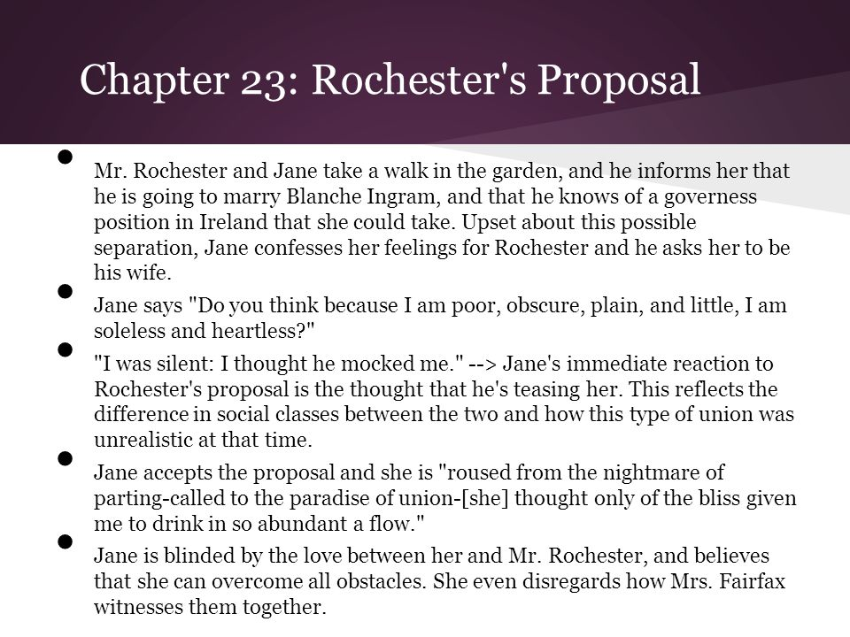 Chapter 26: Rochester s Wife Revealed During the wedding ceremony, a man named Mr.