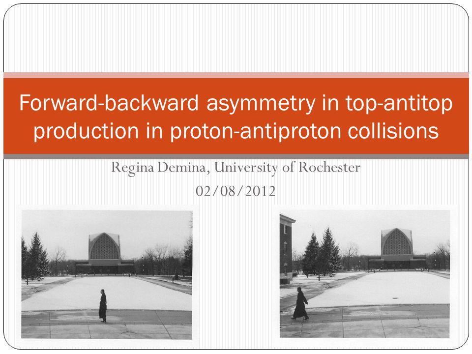 Unfolded A FB lep vs A FB 01/18/2012Regina Demina, University of Rochester12