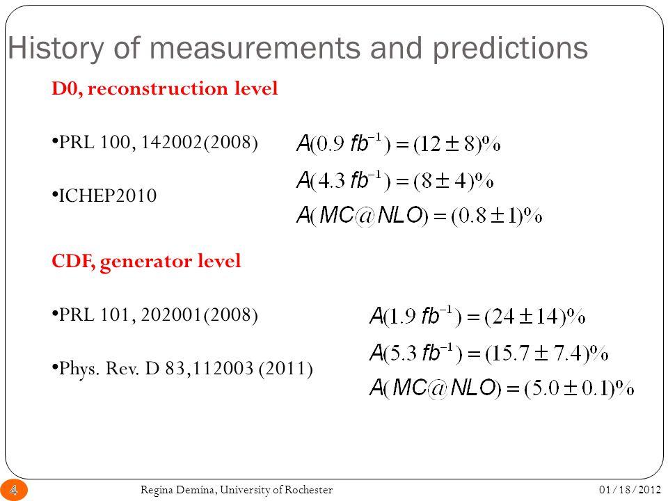 Systematics on A l 01/18/2012Regina Demina, University of Rochester25