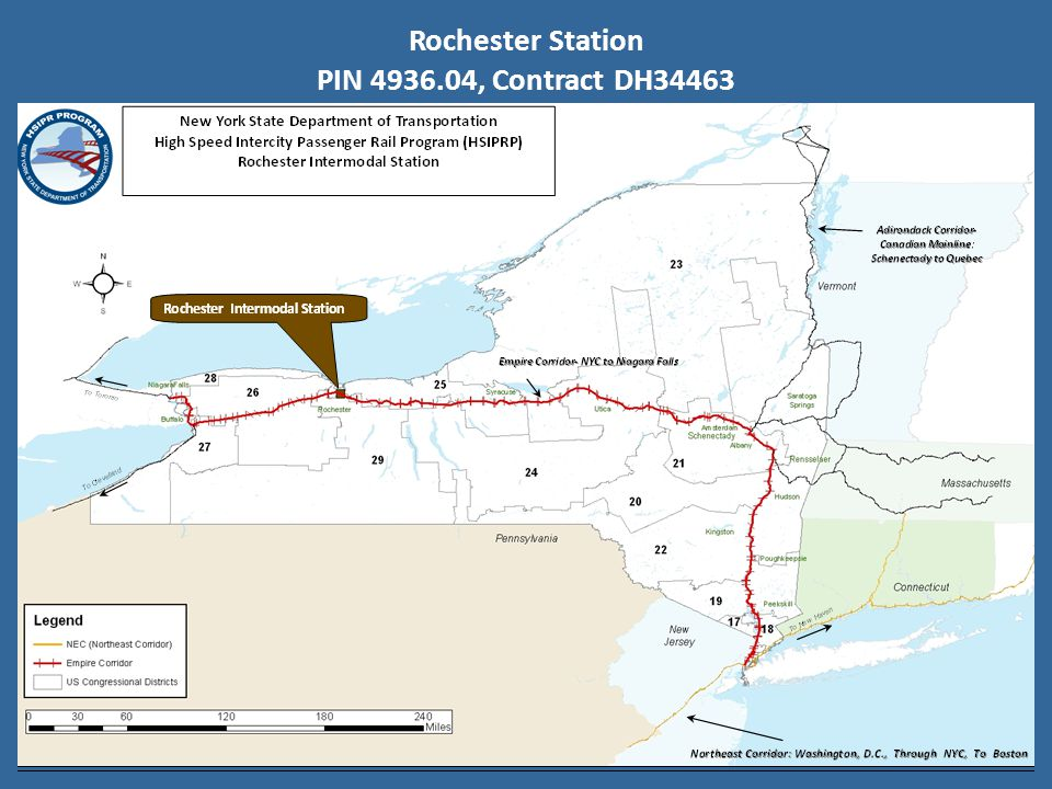 Rochester Station PIN 4936.04, Contract DH34463
