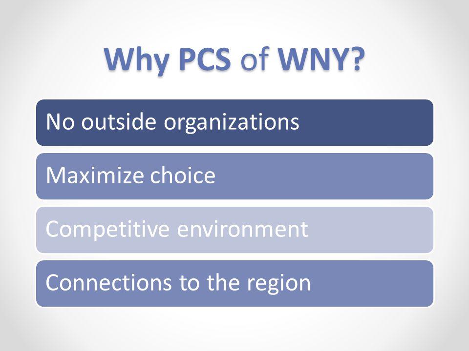 Why PCS of WNY.