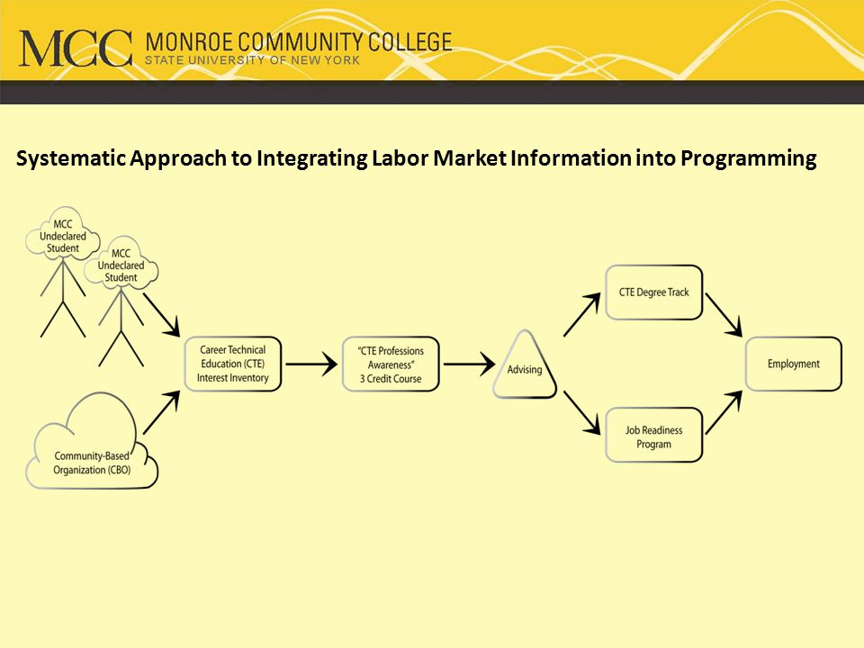 Systematic Approach to Integrating Labor Market Information into Programming