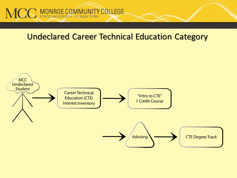 Undeclared Career Technical Education Category