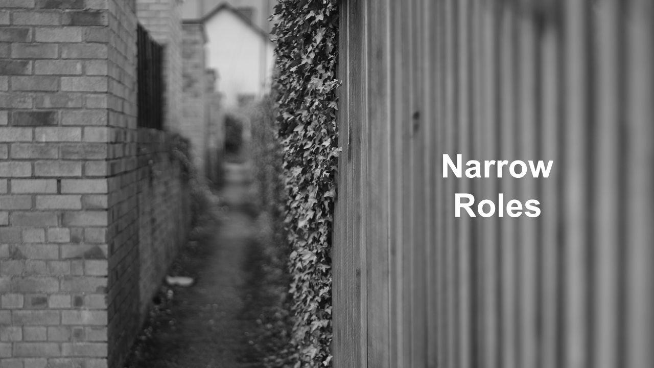 Narrow Roles