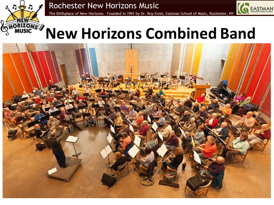 New Horizons Combined Band