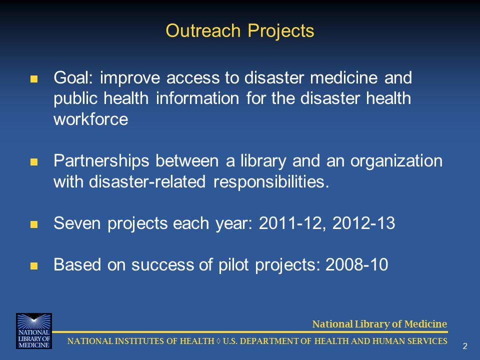 NATIONAL INSTITUTES OF HEALTH ◊ U.S.