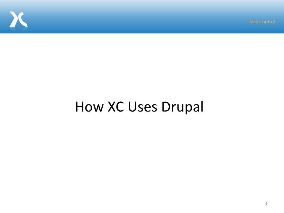 4 How XC Uses Drupal