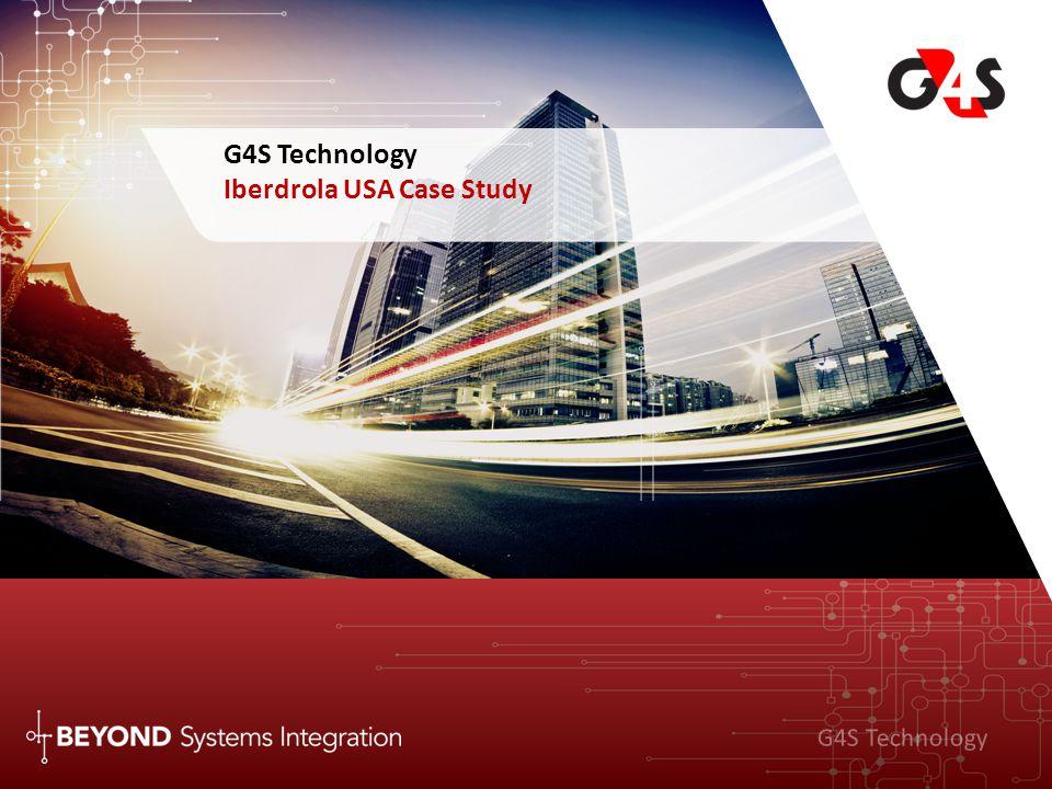 G4S Technology G4S Technology Iberdrola USA Case Study