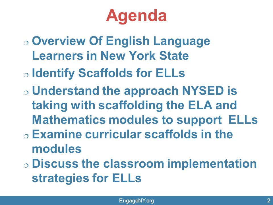 Contextual Vocabulary ELL students may need additional structures to support their understanding and acquisition vocabulary.