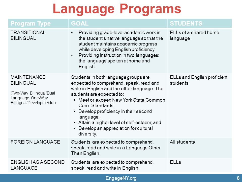 Example from ELA Curriculum St.