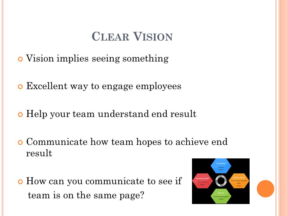 S UMMARY Understand client needs & communicate to team Develop clear plan of action Communicate it with clear expectations & roles Manage changes Try to anticipate problems Communicate changes in a timely fashion to team Evaluate upon completion What went well Problem solve