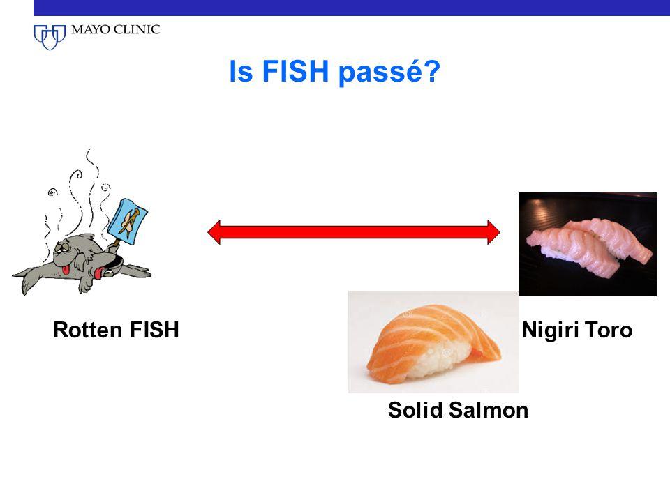 Is FISH passé Rotten FISHNigiri Toro Solid Salmon