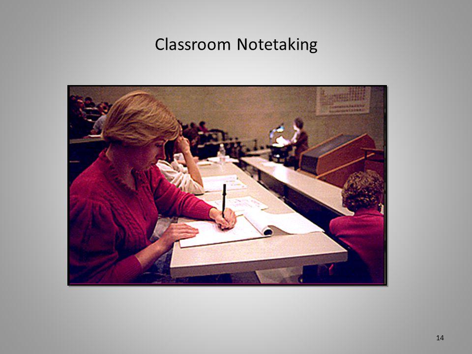 Classroom Notetaking 14