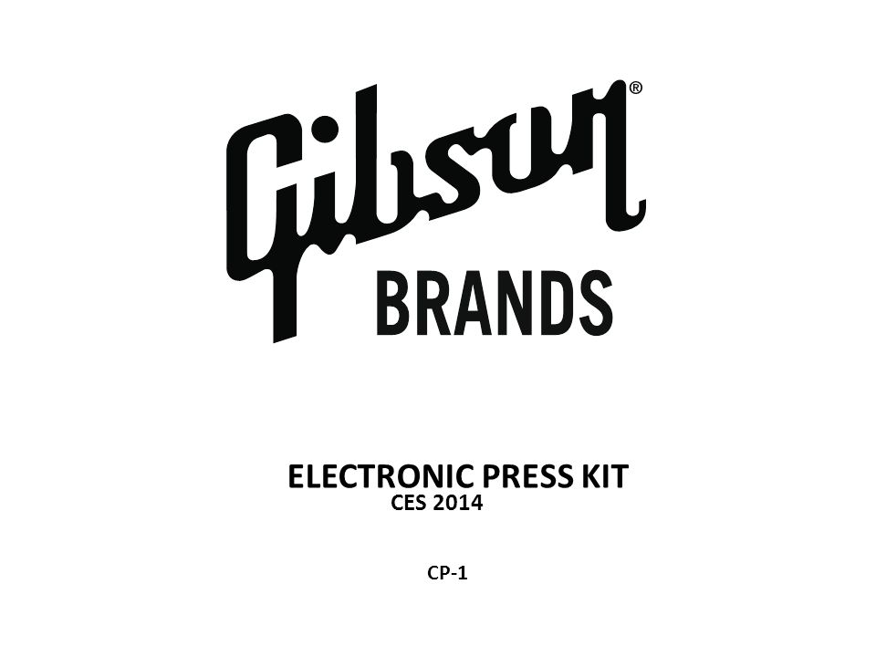 ELECTRONIC PRESS KIT CES 2014 CP-1