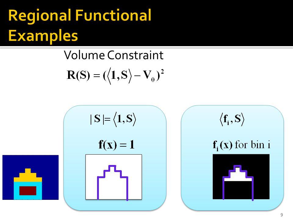 Volume Constraint 9