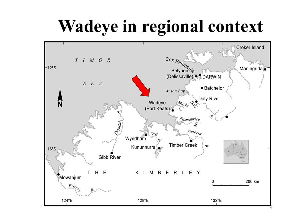 4 Wadeye in regional context