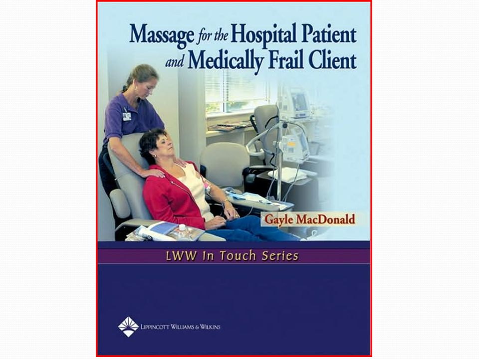 Contents 1.The revival of hospital massage 2. Reviewing the research 3.