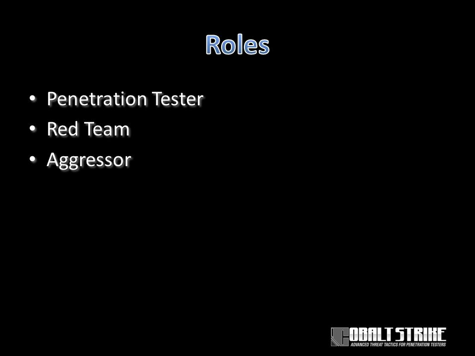 Penetration Tester Red Team Aggressor Penetration Tester Red Team Aggressor