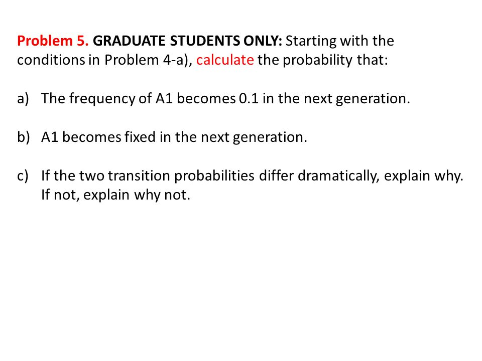Problem 5.