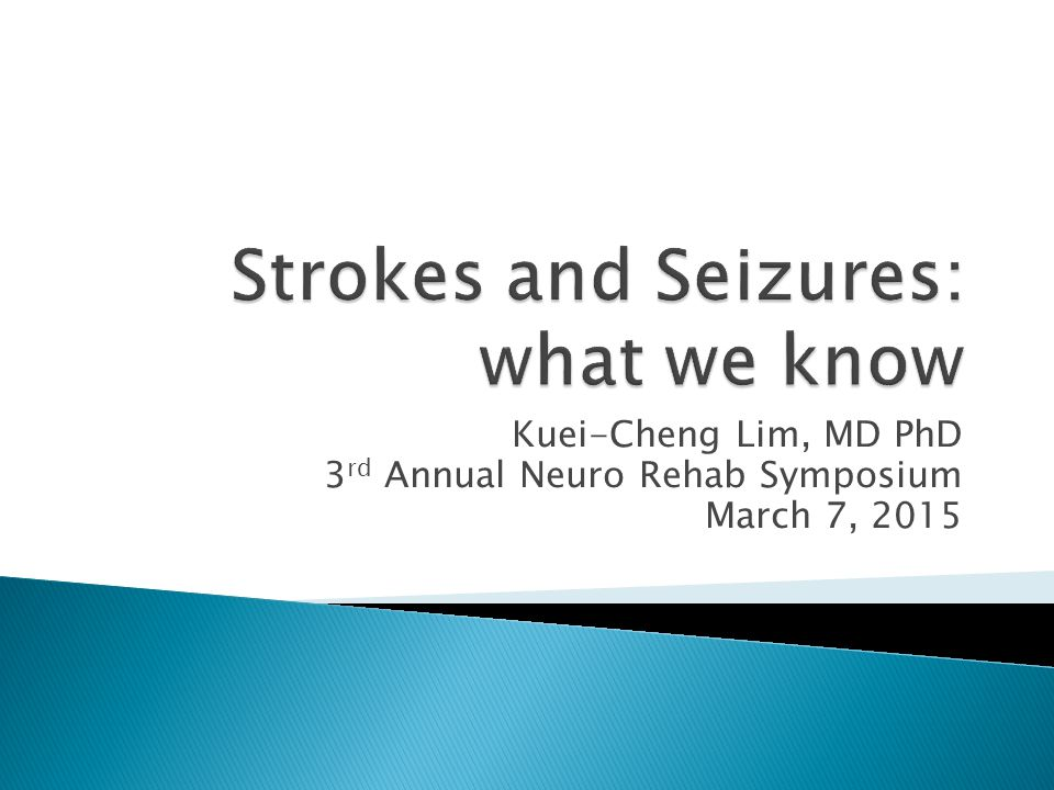 Kuei-Cheng Lim, MD PhD 3 rd Annual Neuro Rehab Symposium March 7, 2015
