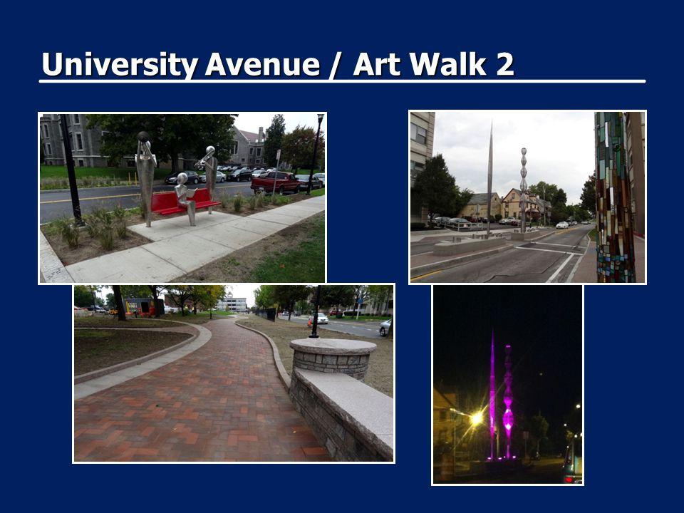 University Avenue / Art Walk 2