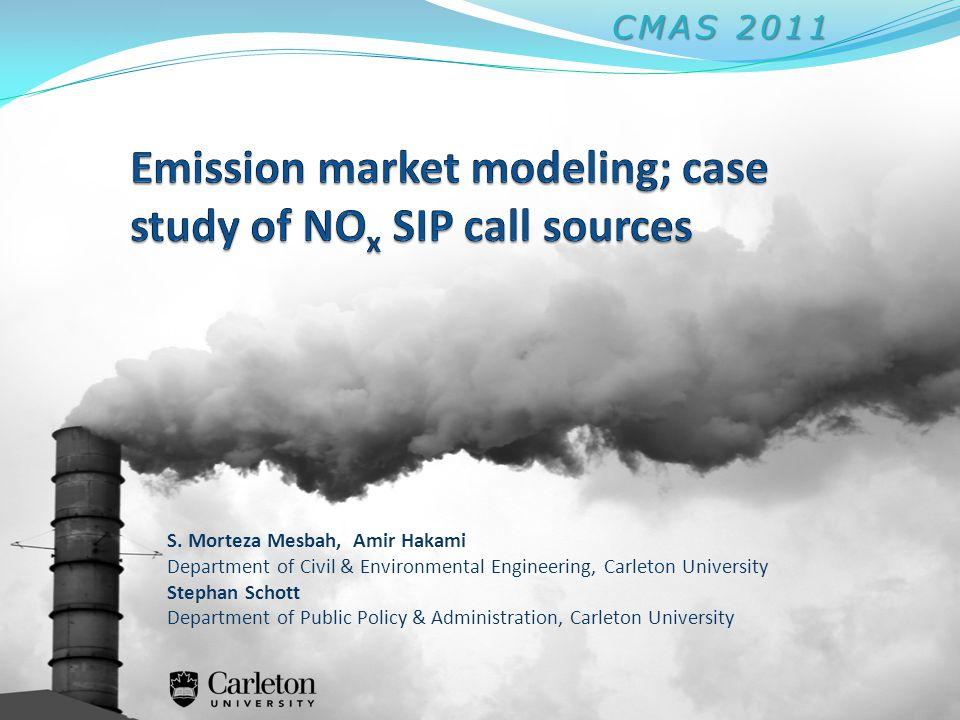 S. Morteza Mesbah, Amir Hakami Department of Civil & Environmental Engineering, Carleton University Stephan Schott Department of Public Policy & Admin