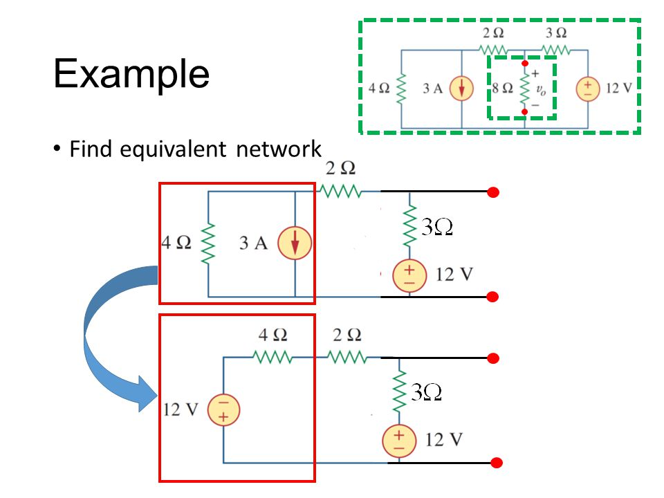 Example Find equivalent network