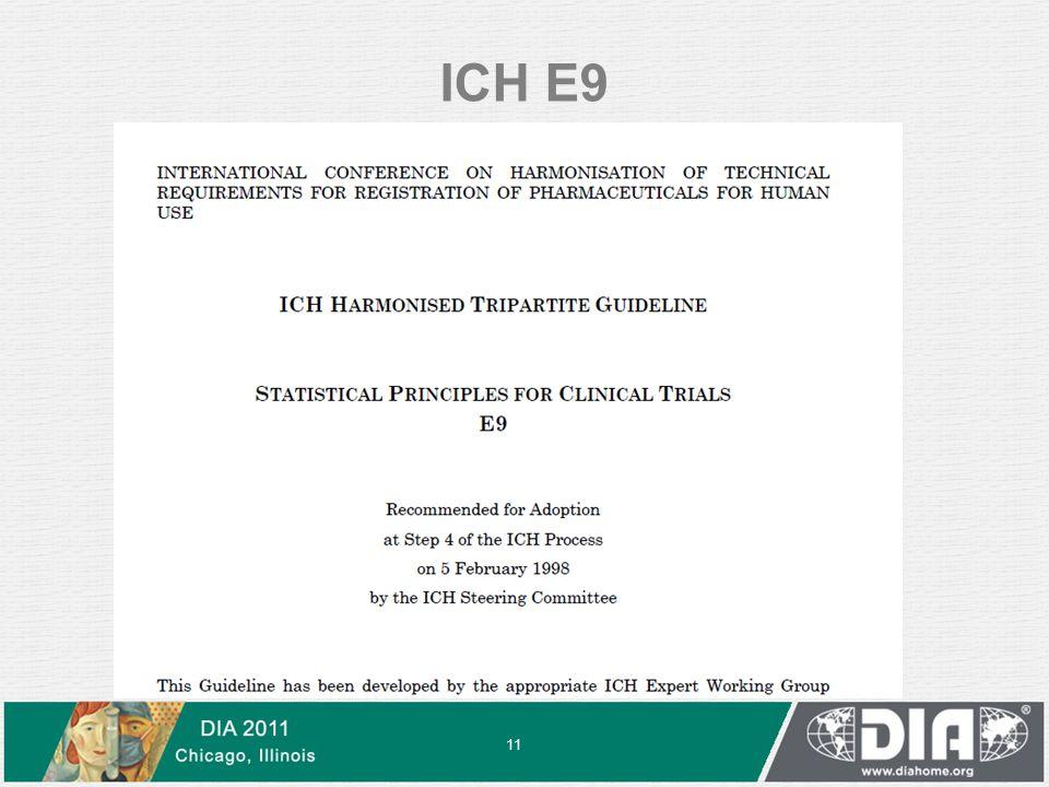 ICH E9 11