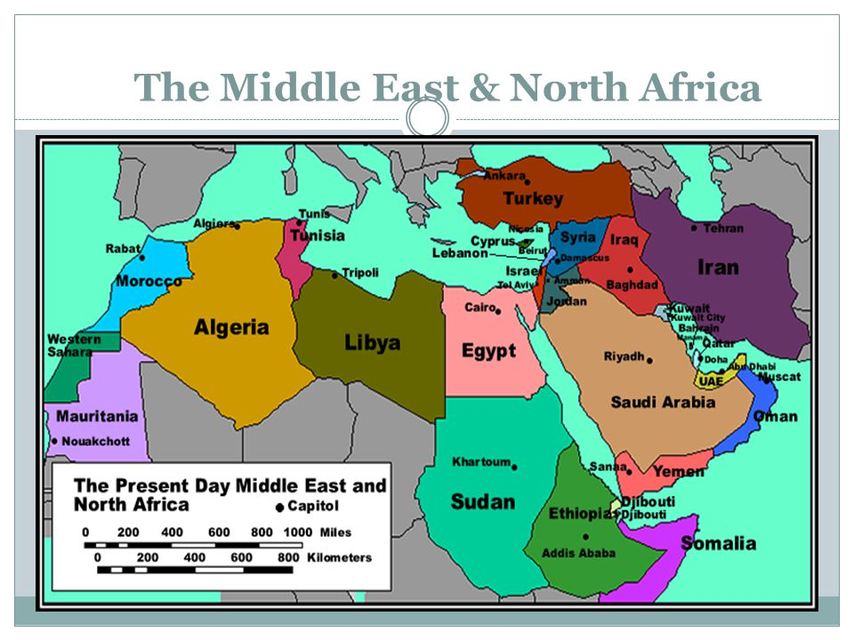 The Middle East & North Africa