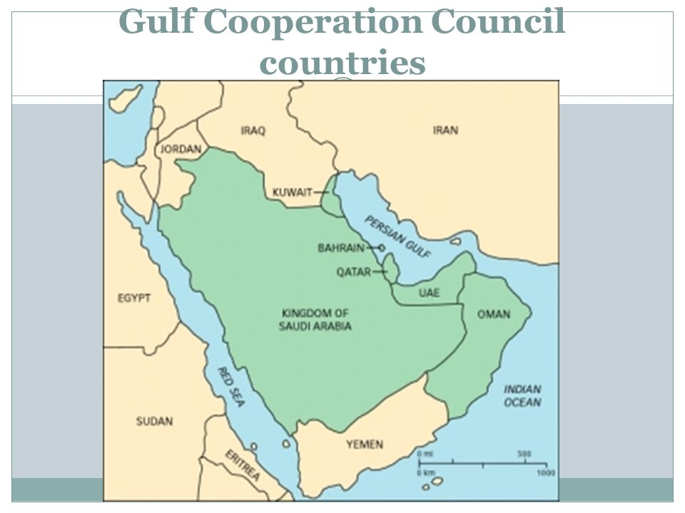 Gulf Cooperation Council countries