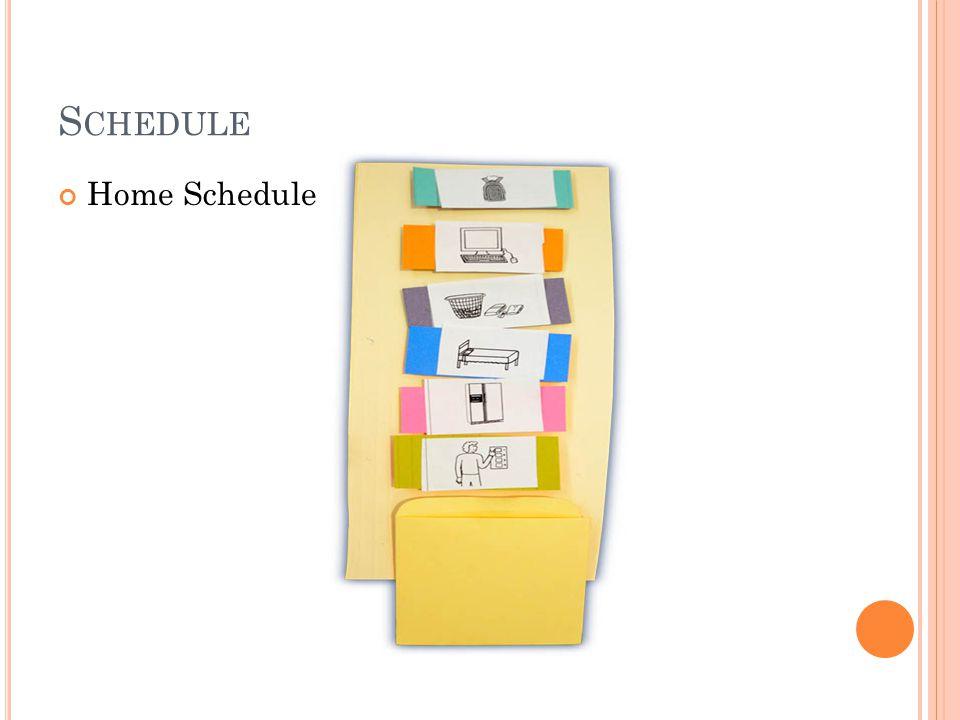 Home Schedule