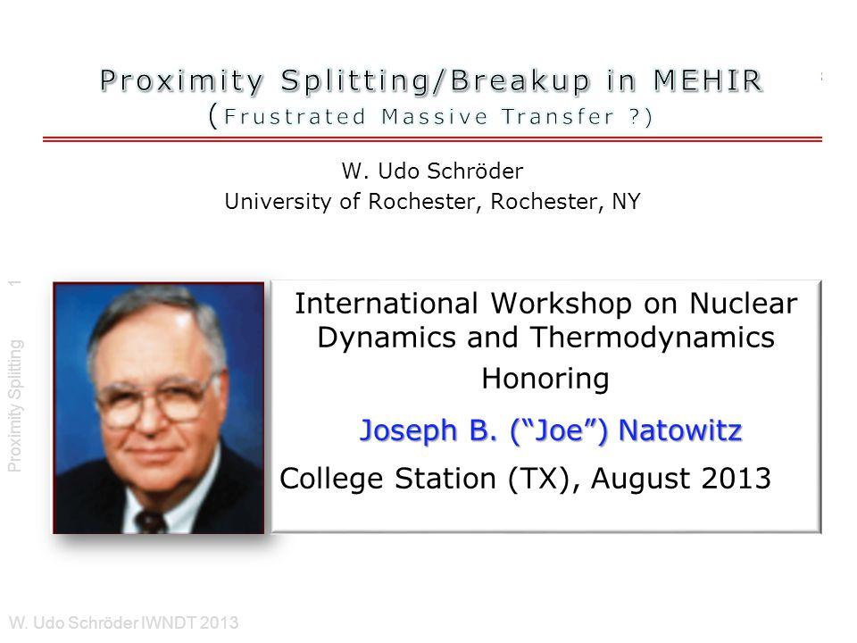 Proximity Splitting W.