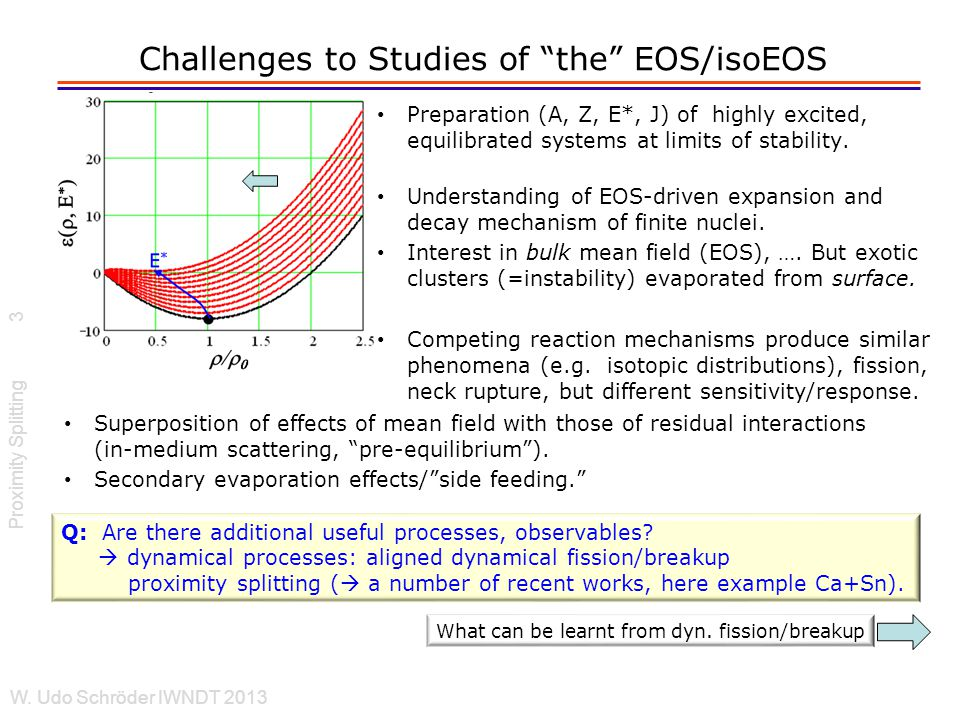 EOS and Tensile Strength Proximity Splitting W.