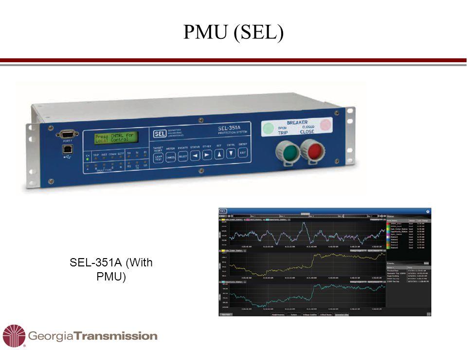 PMU (SEL) SEL-351A (With PMU)