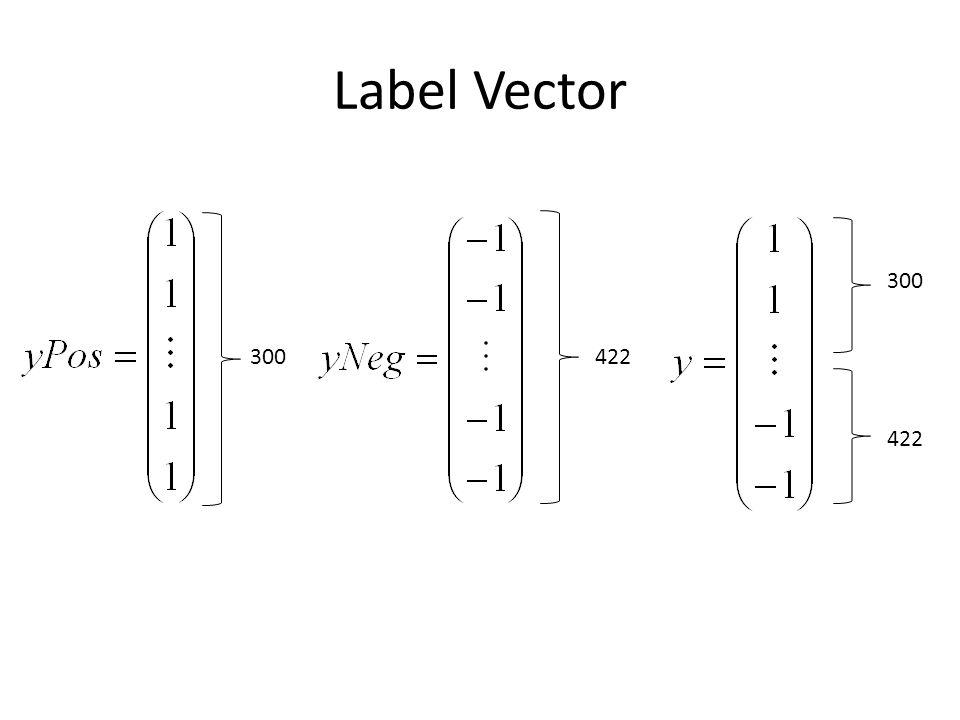 Label Vector 300 422 300422