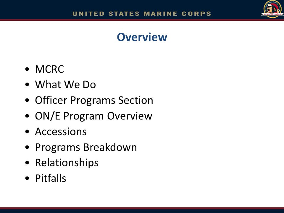 Service Academies Release MARADMINs: –USNA selection process for active duty –USNA selection results Commissioning: –USNA RFAs –USMA, USMMA and USAFA cross comms.