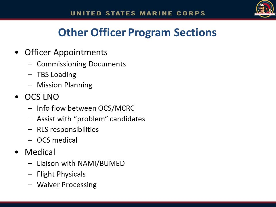 Marine Corps Enlisted Commissioning Education Program (MECEP) Minimum Qualifications Sgt w/ 3 years TIS 12 credits (traditional college or online) –3 math or science –3 English –6 other of any (CLEP, SMART credits and credits earned in high school do not count towards this requirement) 225 PFT (and OCS ship mins) 1 st class CFT