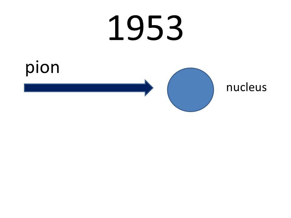 1953 pion nucleus