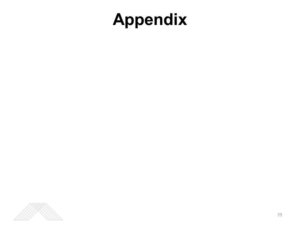 Appendix 39
