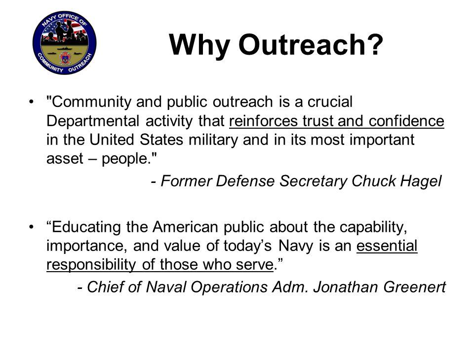 Why Outreach?