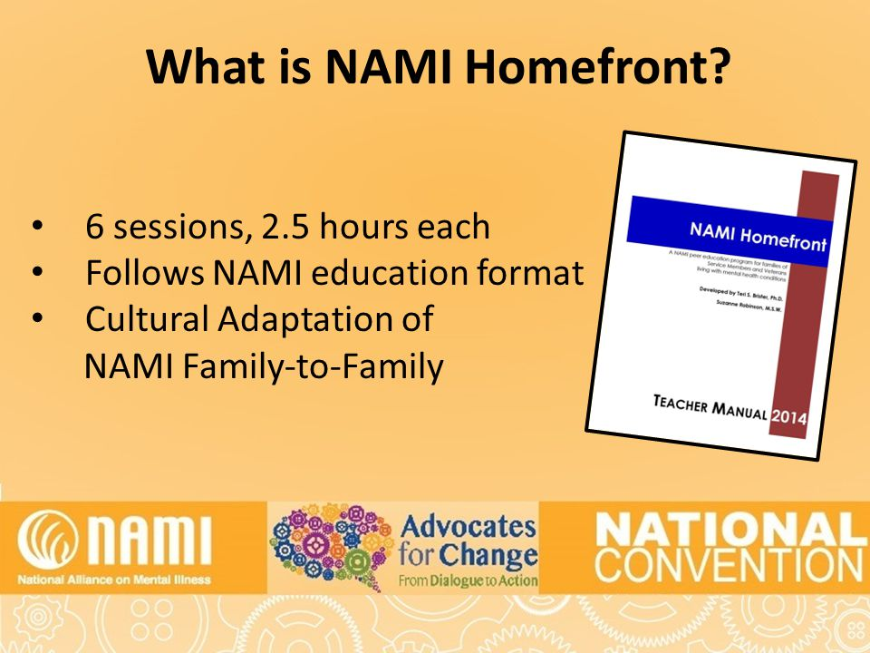 What is NAMI Homefront.